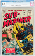 Golden Age (1938-1955):Superhero, Sub-Mariner Comics #40 (Atlas, 1955) CGC FN/VF 7.0 Off-white pages....