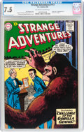 Silver Age (1956-1969):Science Fiction, Strange Adventures #117 (DC, 1960) CGC VF- 7.5 Off-white to white pages....