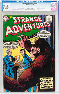 Strange Adventures #117 (DC, 1960) CGC VF- 7.5 Off-white to white pages