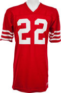 Football Collectibles:Uniforms, 1977-83 Dwight Hicks Game Worn San Francisco 49ers Jersey, MEARS A10....