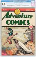 Golden Age (1938-1955):Superhero, Adventure Comics #41 (DC, 1939) CGC VG 4.0 Cream to off-white pages....