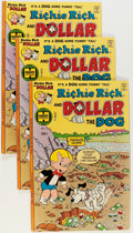 Bronze Age (1970-1979):Humor, Richie Rich and Dollar the Dog #1 File Copy Group (Harvey, 1977) Condition: Average VF.... (Total: 13 Items)