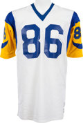 Football Collectibles:Uniforms, 1977-79 Charle Young Game Worn Los Angeles Rams Jersey, MEARS A10....