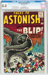 Tales to Astonish #15 (Marvel, 1961) CGC VF 8.0 White pages