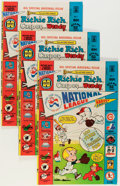 Bronze Age (1970-1979):Cartoon Character, Richie Rich, Casper and Wendy National League #1 File Copy Long Box Group (Harvey, 1976) Condition: Average VF+....