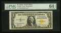 Small Size:World War II Emergency Notes, Fr. 2306 $1 1935A North Africa Silver Certificate. PMG Choice Uncirculated 64 EPQ.. ...