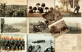 Miscellaneous:Postcards, [Postcards]. Group of Ten Postcards Depicting War Themes. Ca. 1916.Includes Russian and German postcards. A few are used, e...