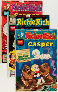Bronze Age (1970-1979):Cartoon Character, Richie Rich and Casper #1-45 File Copy Group (Harvey, 1974-82)Condition: Average NM-.... (Total: 86 Items)
