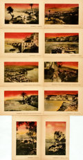 Miscellaneous:Postcards, [Postcards]. Ten Postcards of Sorrento, Italy. Napoli: RobertoZedda, [n.d.]. Toned, with chipping to edges. Good. Fromth...
