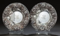 Silver Holloware, American:Bowls, TWO AMERICAN SILVER BOWLS, Samuel Kirk & Son, Baltimore,Maryland, circa 1896-1924. Marks: S. KIRK & SON CO.,925/1000, 13... (Total: 2 Items)