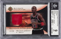 """Basketball Cards:Singles (1980-Now), 2005/06 Ultimate Collection """"Patches Gold"""" Michael Jordan BGS Mint 9. ..."""