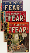 Golden Age (1938-1955):Horror, Haunt of Fear Group (EC, 1951-53) Condition: Average GD/VG....(Total: 5 Comic Books)