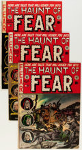 Golden Age (1938-1955):Horror, Haunt of Fear Group (EC, 1952-54) Condition: Average VG.... (Total:6 Comic Books)