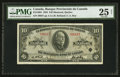 Canadian Currency: , Montreal, PQ- La Banque Provinciale du Canada $10 Jan. 2, 1935 Ch.# 615-16-04. ...