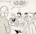 Original Comic Art:Covers, Samm Schwartz Archie's Pal Jughead #83 Cover Original Art(Archie Comics, 1962)....