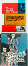 Books:Art & Architecture, [Postcards]. Pair of Books about Postcards and Postcard-Collecting. Various publishers and dates. Quartos. Publisher's bindi... (Total: 2 Items)