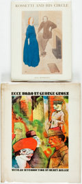 Books:Art & Architecture, [Art]. George Grosz. Ecce Homo. Introduction by Henry Miller. New York: Grove Press, [1966]. Second printing. Large ... (Total: 2 Items)