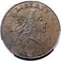 Large Cents, 1793 1C Chain, AMERICA, S-2, B-2, High R.4, MS64 Brown PCGS Secure. CAC....