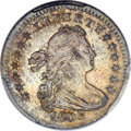 Early Half Dimes, 1803 H10C Large 8, V-2, LM-3, R.3, MS65+ PCGS Secure. CAC....