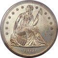 Seated Dollars, 1860-O $1 MS65+ PCGS Secure. CAC....