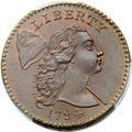1794 1C Head of 1794, S-24, B-8, R.1, MS67 Red and Brown PCGS Secure....(PCGS# 35538)