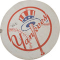Baseball Collectibles:Others, 2011 Derek Jeter 3,000th Hit Game Used New York Yankees On-DeckCircle....