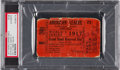 Baseball Collectibles:Tickets, 1917 World Series Game Five Ticket Stub, PSA Authentic....