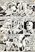 "Original Comic Art:Panel Pages, Wally Wood Astonishing Tales #3 ""Doom Must Die!"" Page 2Original Art (Marvel, 1970)...."