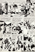 Original Comic Art:Panel Pages, Wally Wood Daredevil #6 Page 4 Original Art (Marvel,1965)....