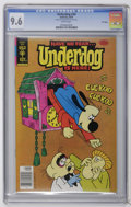 Bronze Age (1970-1979):Cartoon Character, Underdog #20 File Copy (Gold Key, 1978) CGC NM+ 9.6 White pages.Overstreet 2006 NM- 9.2 value = $35. CGC census 10/06: 7 in...