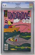 Bronze Age (1970-1979):Cartoon Character, Underdog #19 File Copy (Gold Key, 1978) CGC NM 9.4 White pages.Overstreet 2006 NM- 9.2 value = $35. CGC census 10/06: 2 in ...