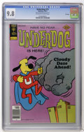 Bronze Age (1970-1979):Cartoon Character, Underdog #15 File Copy (Gold Key, 1977) CGC NM/MT 9.8 Off-white towhite pages. Overstreet 2006 NM- 9.2 value = $35. CGC cen...