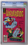 Bronze Age (1970-1979):Cartoon Character, Underdog #13 File Copy (Gold Key, 1977) CGC NM/MT 9.8 Off-white towhite pages. First appearance of the Shack of Solitude. O...