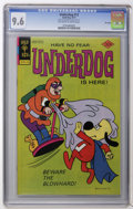 Bronze Age (1970-1979):Cartoon Character, Underdog #12 File Copy (Gold Key, 1977) CGC NM+ 9.6 Off-white towhite pages. Overstreet 2006 NM- 9.2 value = $35. CGC censu...