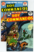 Bronze Age (1970-1979):War, Boy Commandos #1 and 2 Group (DC, 1973). Group includes #1 (reprints story from Boy Commandos #1, Jack Kirby and Joe Sim... (Total: 2 Comic Books)