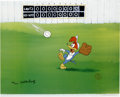 "Animation Art:Limited Edition Cel, ""Fly Ball"" Limited Edition Hand Painted Cel #186/200 Original Art(Walter Lantz Productions, 1992). Hand painted limited edi...(Total: 2 Items)"