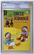 Bronze Age (1970-1979):Cartoon Character, Uncle Scrooge #121 File Copy (Gold Key, 1975) CGC NM 9.4 Off-whiteto white pages. Overstreet 2006 NM- 9.2 value = $35. CGC ...