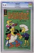 Bronze Age (1970-1979):Cartoon Character, Underdog #8 File Copy (Gold Key, 1976) CGC NM 9.4 Off-white towhite pages. Overstreet 2006 NM- 9.2 value = $45. CGC census ...
