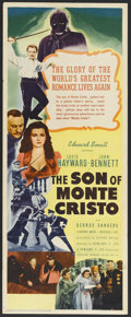 "Movie Posters:Adventure, The Son of Monte Cristo (United Artists, 1940). Insert (14"" X 36"").Action Adventure. Starring Louis Hayward, Joan Bennett, ..."