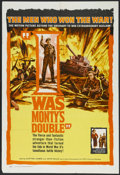"Movie Posters:War , I Was Monty's Double (NTA, 1959). One Sheet (27"" X 41""). War Drama.Starring M.E. Clifton-James, John Mills, Cecil Parker, P..."