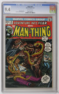 Bronze Age (1970-1979):Horror, Fear #12 (Marvel, 1973) CGC NM 9.4 Off-white pages. Man-Thingappears. Jim Starlin and Rich Buckler art. Overstreet 2006 NM-...