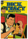 """Golden Age (1938-1955):Crime, Dick Tracy Monthly #16 Davis Crippen (""""D"""" Copy) pedigree (Dell, 1949) Condition: VF. Overstreet 2006 VF 8.0 value = $116. ..."""