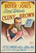 "Movie Posters:Comedy, Cluny Brown (20th Century Fox, 1946). One Sheet (27"" X 41""). Comedy. Starring Charles Boyer, Jennifer Jones, Peter Lawford, ..."