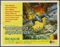 "Movie Posters:War, Mosquito Squadron (United Artists, 1969). Half Sheet (22"" X 28"").War. Starring David McCallum, Suzanne Neve, Charles Gray a..."