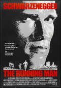 """Movie Posters:Action, The Running Man (Tri Star Pictures, 1987). One Sheet (27"""" X 41""""). Sci-Fi Action. Starring Arnold Schwarzenegger, Maria Conch..."""