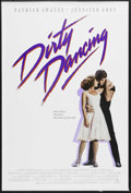 "Movie Posters:Romance, Dirty Dancing (Vestron, 1987). One Sheet (27"" X 41""). Romantic Drama. Starring Jennifer Grey, Patrick Swayze, Jerry Orbach a..."
