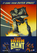 "Movie Posters:Animated, The Iron Giant (Warner Brothers, 1999). One Sheet (27"" X 41"").Animated Sci-Fi. Starring the voices of Jennifer Aniston, Har..."