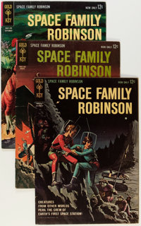 Space Family Robinson Group (Gold Key, 1962-74) Condition: Average VG/FN.... (Total: 26 Comic Books)