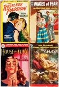 Books:Pulps, [Vintage Paperbacks]. Group of Four Vintage Avon Paperbacks. NewYork: Avon, [1947-1952]. Includes works by Arnaud, Hubler a...(Total: 4 Items)