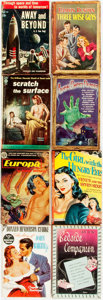 Books:Pulps, [Vintage Paperbacks]. Group of Eight Vintage Avon Paperbacks. NewYork: Avon, [1940-50s]. Includes works by Van Vogt, Runyon...(Total: 8 Items)